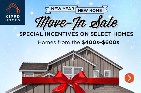 Unbeatable Incentives on New Bay Area Homes During New Year/New Home Promotion
