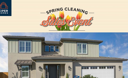 Join Kiper Homes at Spring Cleaning Sales Event This Weekend