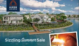 Enjoy Sizzling Summer Sale Pricing on New Kiper Homes