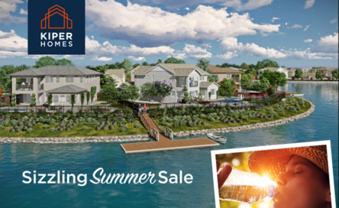 Enjoy Sizzling Summer Sale Pricing on New Kiper Homes