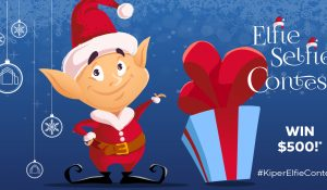 Kiper Homes Launches 3rd Annual Elfie Selfie Contest
