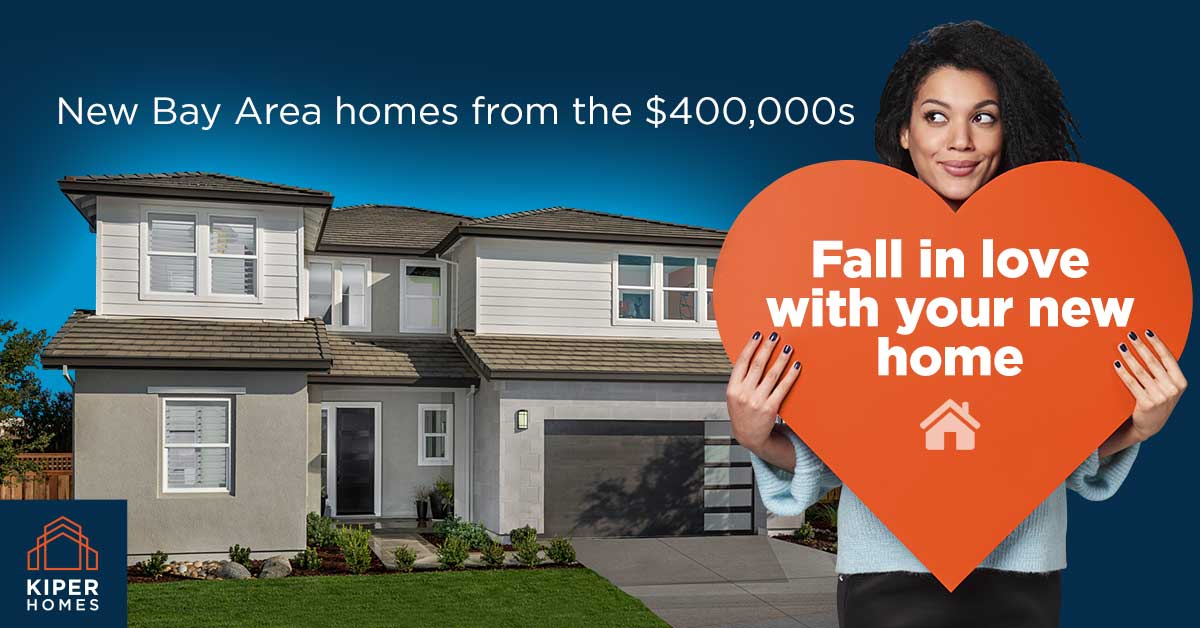 Kiper Homes Offering Sweetheart Deals on Quick Move-In Homes in Lathrop, Discovery Bay
