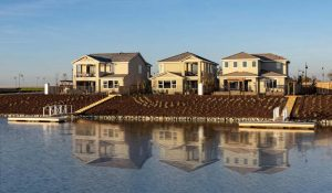 Kiper Homes Lakeside Model Home Waterfront View