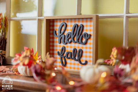 Easy Fall Décor Tips from Kiper Homes