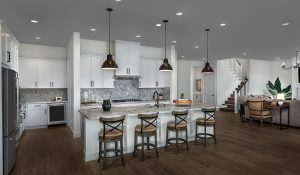 Painted versus Stained Cabinets for New Kiper Homes